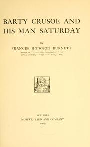 Cover of: Barty Crusoe and his man Saturday