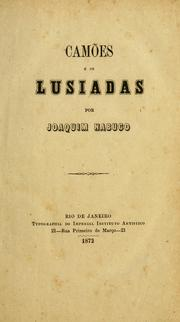 Cover of: Camões e Os Lusiadas