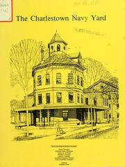Cover of: The Charlestown navy yard