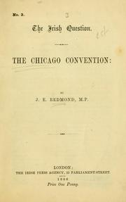 Cover of: The Chicago Convention