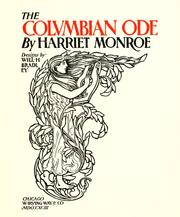 Cover of: The Columbian ode
