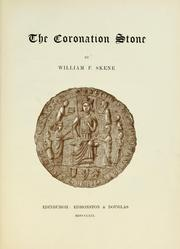 Cover of: The coronation stone