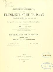 Cover of: Crustacés Décapodes