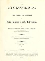 Cover of: The cyclopædia