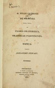 Cover of: De oratore