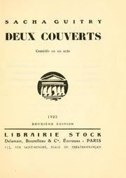 Cover of: Deux couverts
