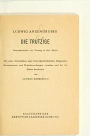 Cover of: Die Trutzige
