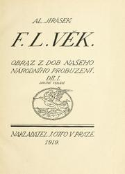 Cover of: F.L. Věk