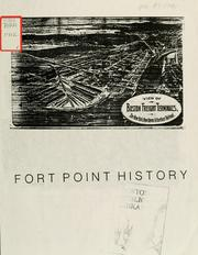 Cover of: Fort point history