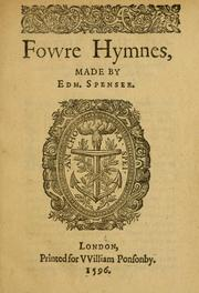 Cover of: Fovvre hymnes