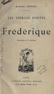 Cover of: Frédérique: Illus. de V. Bocchino.