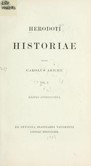 Cover of: History