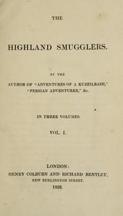 Cover of: The highland smugglers