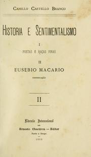 Cover of: Historia e sentimentalismo