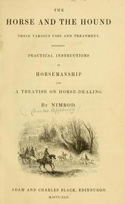 Cover of: The horse and the hound
