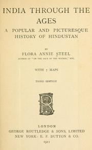 Cover of: India through the ages