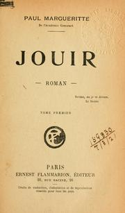 Cover of: Jouir