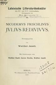 Cover of: Jvlivs redivivvs