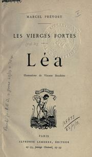 Cover of: Léa: Illus. de Vincent Bocchino.