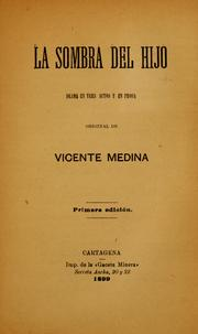 Cover of: La sombra del hijo