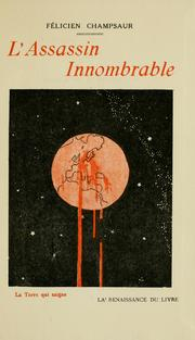 Cover of: L' assassin innombrable
