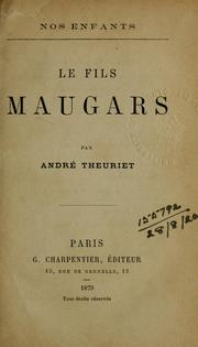 Cover of: Le fils Maugars