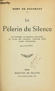Cover of: Le pélerin du silence