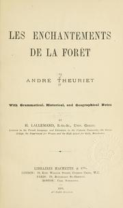 Cover of: Les enchantements de la forêt