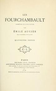 Cover of: Les fourchambault