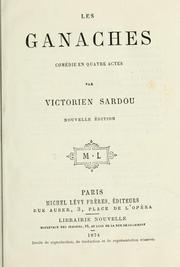 Cover of: Les ganaches
