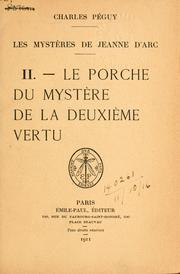 Cover of: Les mystéres de Jeanne d'Arc