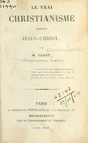 Cover of: Le vrai Christianisme suivant J́́esus-Christ