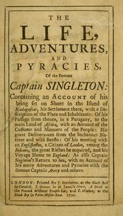 Cover of: Captain Singleton