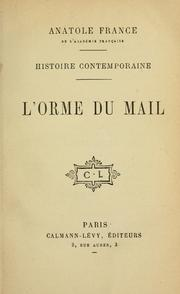 Cover of: L' orme du mail