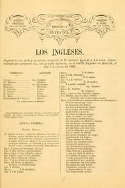 Cover of: Los ingleses