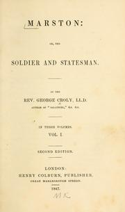 Cover of: Marston, or, The soldier and statesman