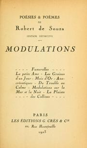 Cover of: Modulations