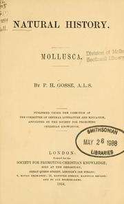 Cover of: Natural history, mollusca