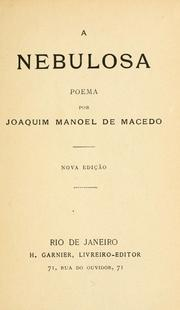 Cover of: A nebulosa: poema