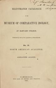 Cover of: North American Acalephæ