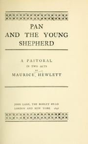 Cover of: Pan and the young shepherd