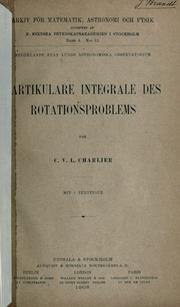 Cover of: Partikulare Integrale des Rotationsproblems