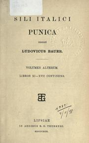 Cover of: Punica