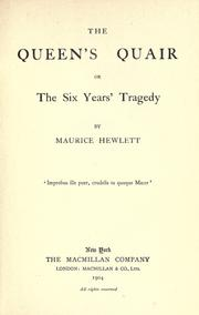 Cover of: The queen's quair