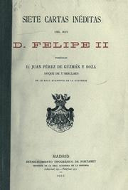 Cover of: Siete cartas inéditas