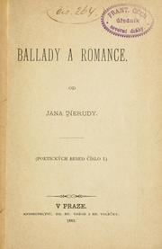 Cover of: Ballady a romance