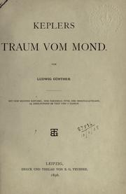 Cover of: Traum vom Mond