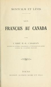 Cover of: Les Français au Canada