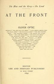 Cover of: At the front