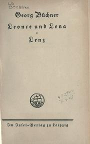 Cover of: Leonce und Lena